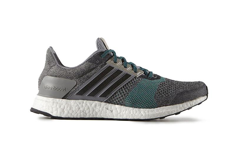 adidas Ultra Boost ST Grey/Green