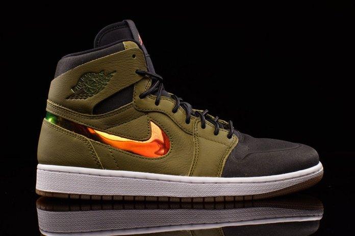 "Air Jordan 1 High Nouveau ""Militia Green"""