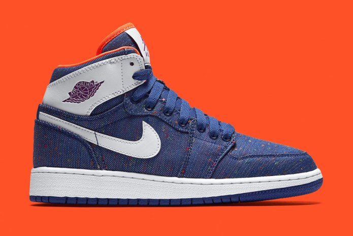 "Air Jordan 1 Retro High ""Blue Denim Twill"""