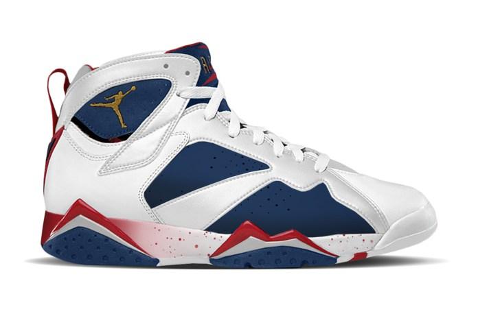 "Jordan Brand Is Dropping an Alternate Version of the Air Jordan 7 ""Olympic"""