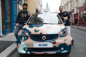 The 'All Gone Decade' Smart Car Features a Paris-Inspired Camo Paint Job