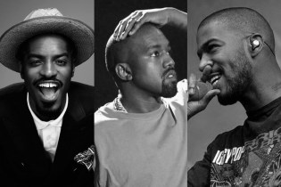 What're Andre 3000, Kanye West and Kid Cudi Doing in a Recording Studio Together?