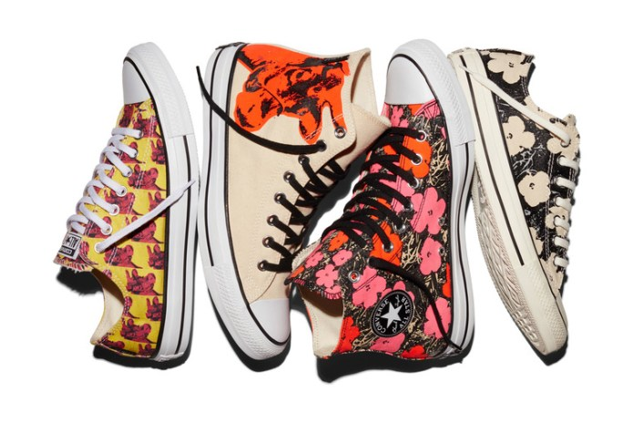 Andy Warhol x Converse Chuck Taylor All Star 2016 Spring Collection
