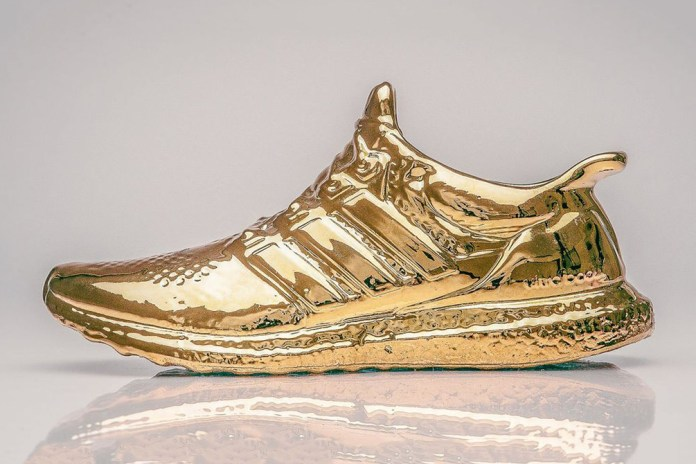 Artist Creates Gold-Plated & Ceramic adidas Ultra Boosts