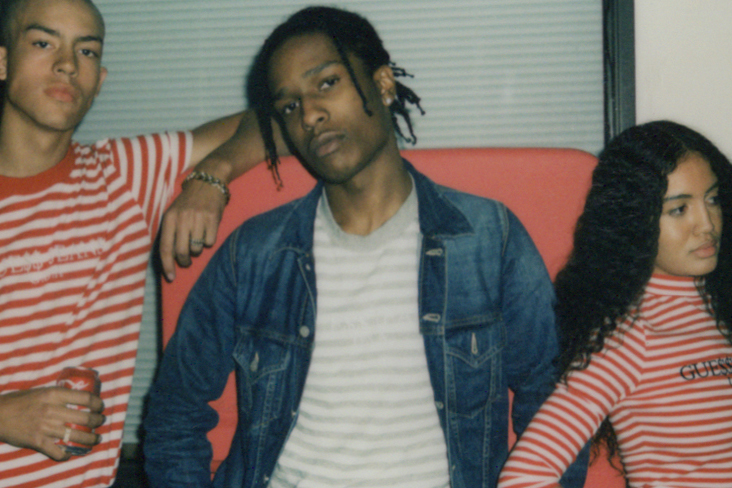 Reclaim Your Love: The GUESS Originals x A$AP Rocky Collection Is Online Now