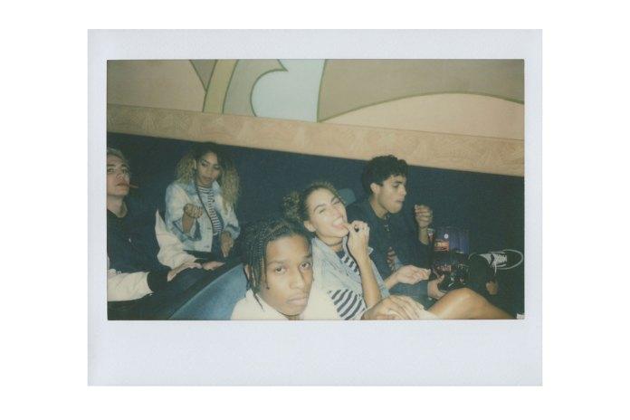 A$AP Rocky x GUESS Polaroid Campaign