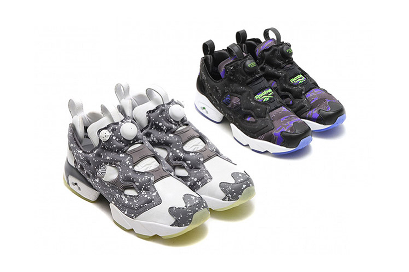 "atmos x Reebok Instapump Fury ""Glow In The Dark"" Pack"