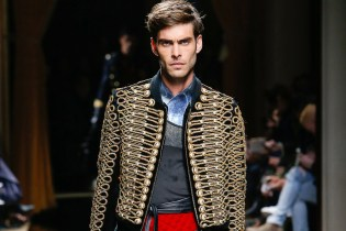 Balmain Brings in the Cavalry for Its 2016 Fall/Winter Collection