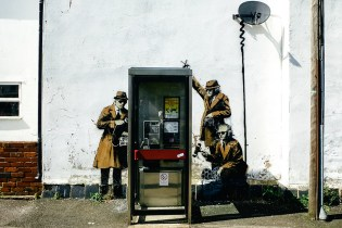 Livable Art: Banksy's 'Spy Booth' Officially for Sale