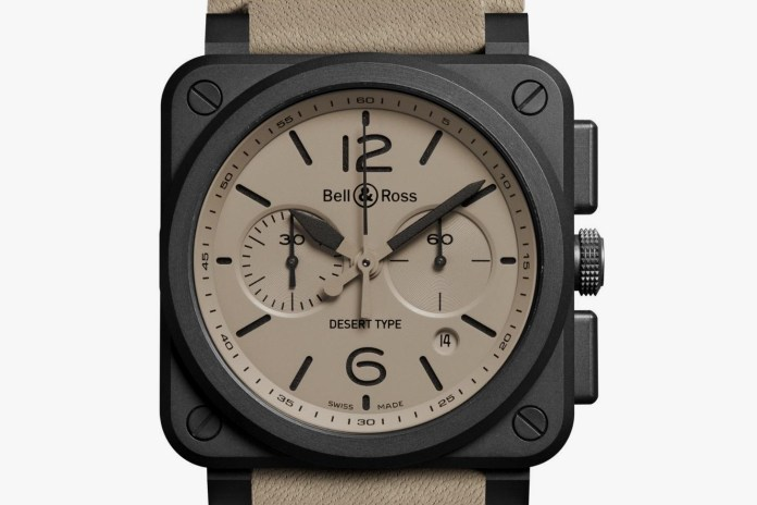 Bell & Ross Debuts Its BR-03 Desert Type Watch