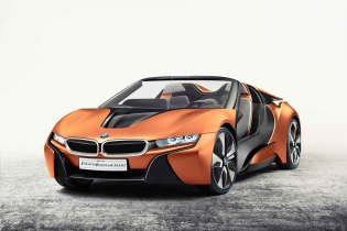 BMW Previews New Technologies With Two i8 Concepts