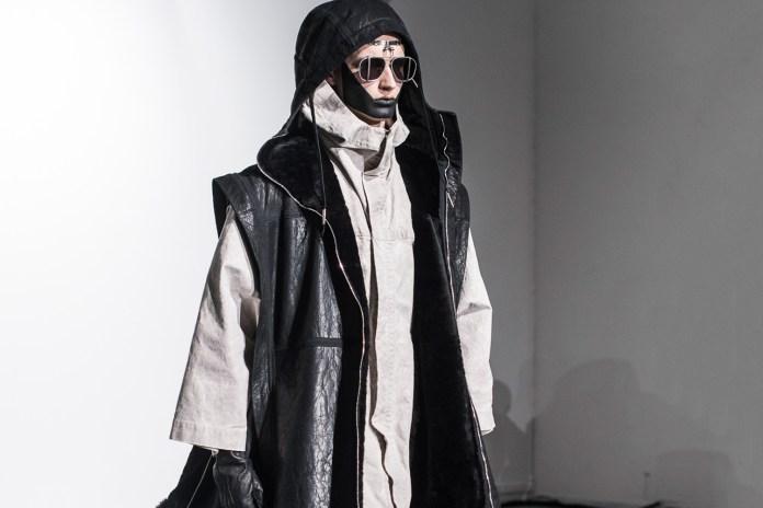 A Front Row Look at the Boris Bidjan Saberi 2016 Fall/Winter Collection