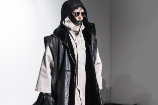 A Front Row Look at the Boris Bidjan Saberi 2016 Fall/Winter Collection