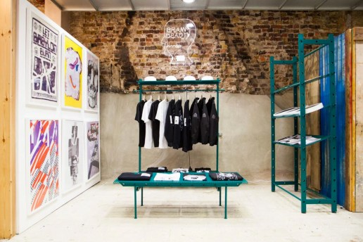 "Brain Dead Launches ""WORLD UPDATE"" Installation in Dover Street Market London"