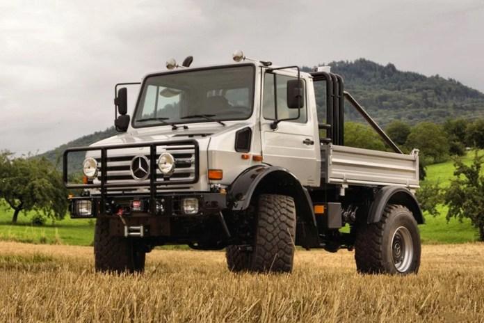 Arnold Schwarzenegger's Mercedes-Benz Unimog U1300 SE 6.4 Is Now for Sale on eBay Motors