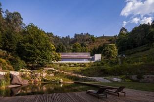Carvalho Araújo Nestles Gerês House in Portugal's Caniçada Valley