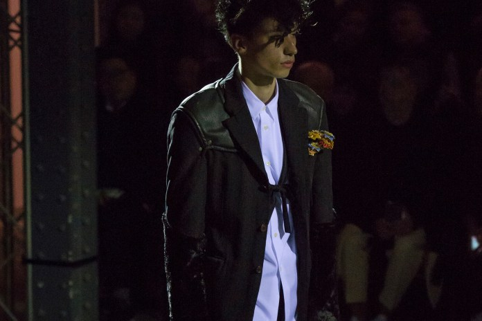 Challenging Masculinity: COMME des GARÇONS Homme Plus 2016 Fall/Winter Collection