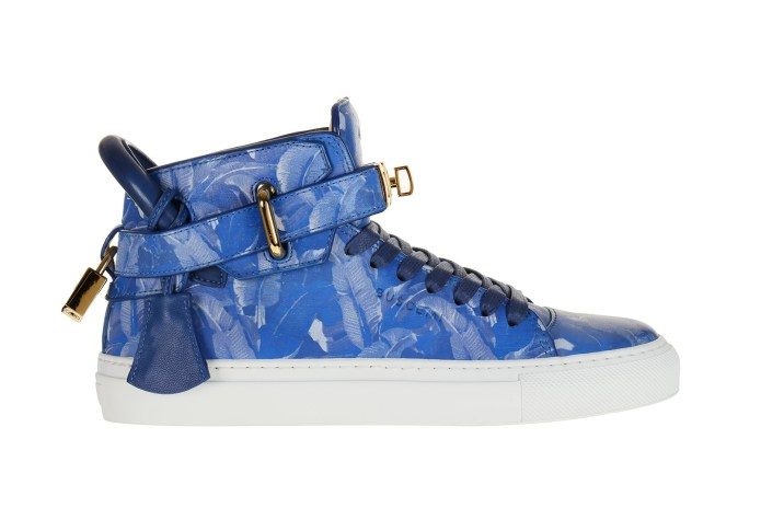 "colette x BUSCEMI 100 mm ""Blue Palm"""