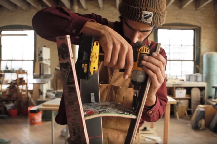 How to Turn a Skateboard Into a Stool With Woodworker Andy Vasquez