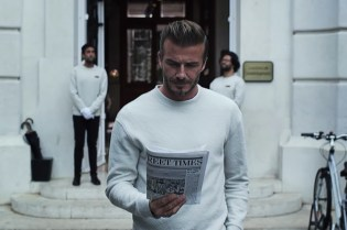 Everyone Is Jacking David Beckham's Style in This New H&M Ad