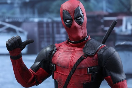 The Hot Toys Deadpool Figure Looks as Hilarious as the Flick