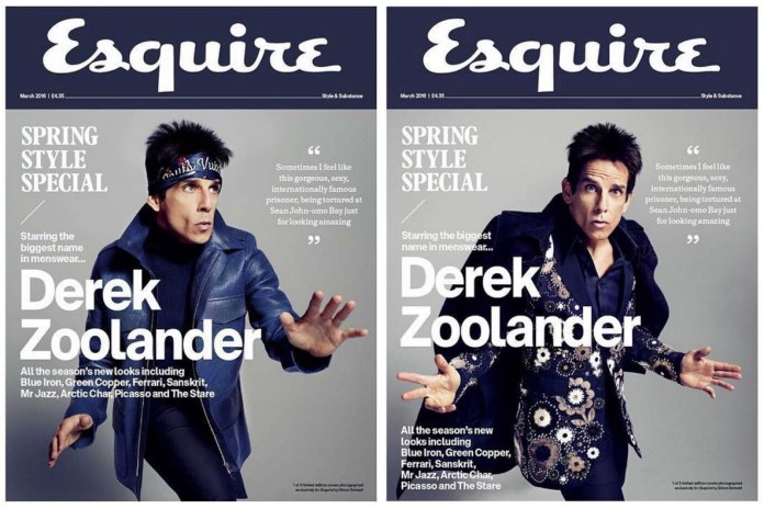 Derek Zoolander Covers the Latest Issue of 'Esquire'