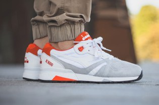 "Diadora N.9000 ""Grey Toe"""