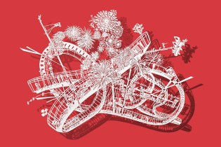 'Divertical' Is an Art Project That Focuses on Intricate Hand-Cut Pieces of Paper