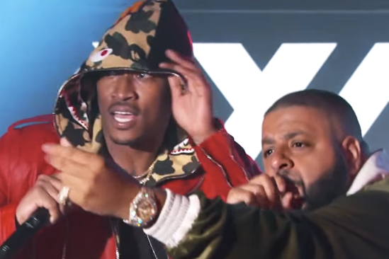 DJ Khaled Hits the Stage of 'Jimmy Kimmel Live!' With Future