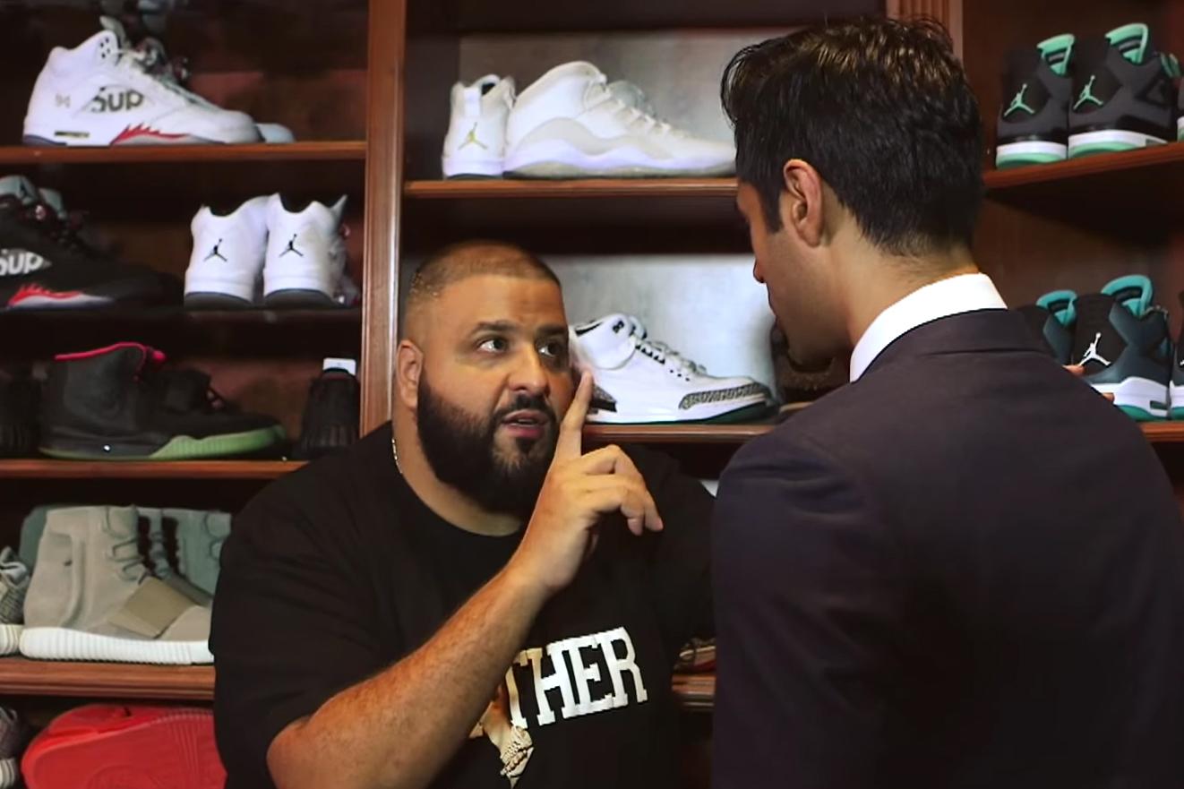 DJ Khaled Shares Some Keys to Success on 'The Daily Show' Alongside Hasan Minhaj
