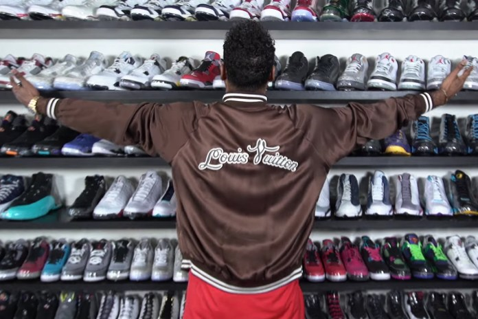 Don C Goes Sneaker Shopping and Spends $3K on Some Retro Jordans