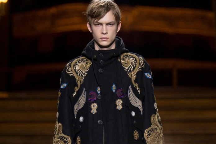 Dries Van Noten 2016 Fall/Winter Collection