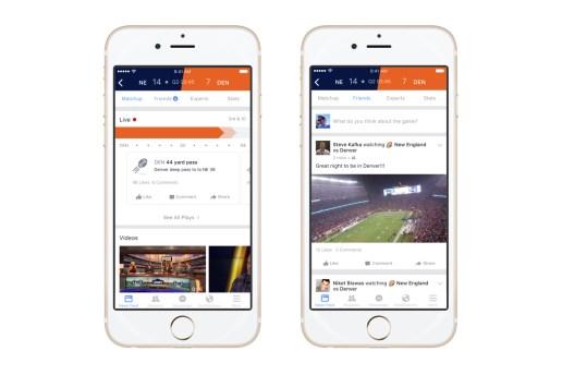 Facebook Launches Sports Stadium