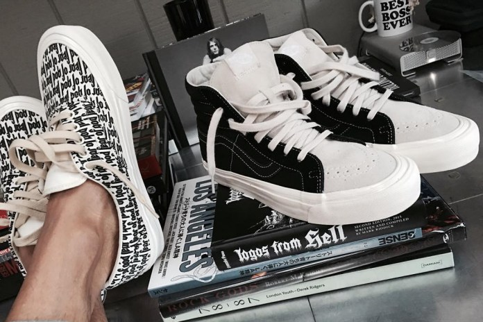 A First Look at Jerry Lorenzo's FOG x Vans Collection