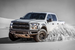 Take a Look at Ford's Ferocious 2017 F-150 Raptor Truck
