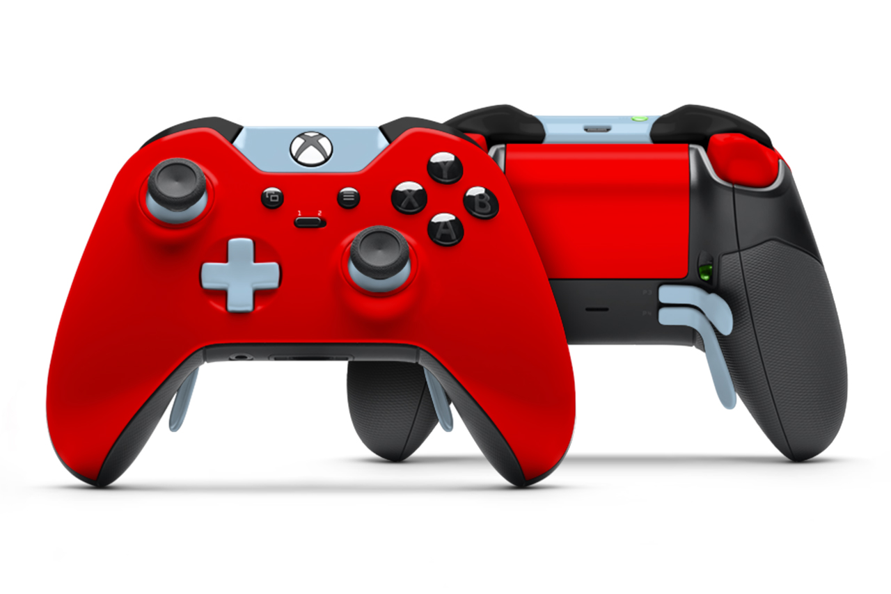Fully Customizable Xbox One ColorWare Elite Controllers ...