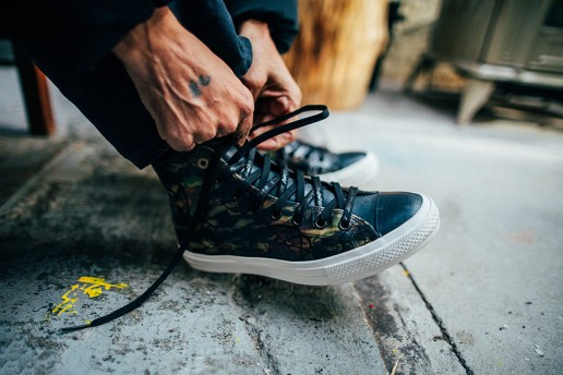 Behind the Scenes of the Futura Converse Chuck Taylor All Star II as Shot by 13thWitness