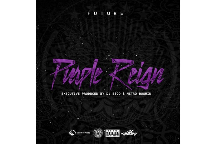 Future's Latest Mixtape 'Purple Reign' Has Finally Dropped