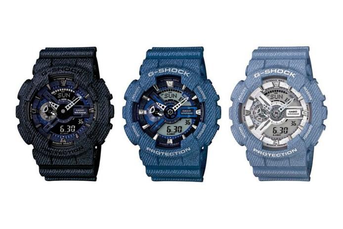 G-Shock Unveils a Series of Denim Watches