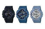 G-Shock Unveils a Series of Denim Watches