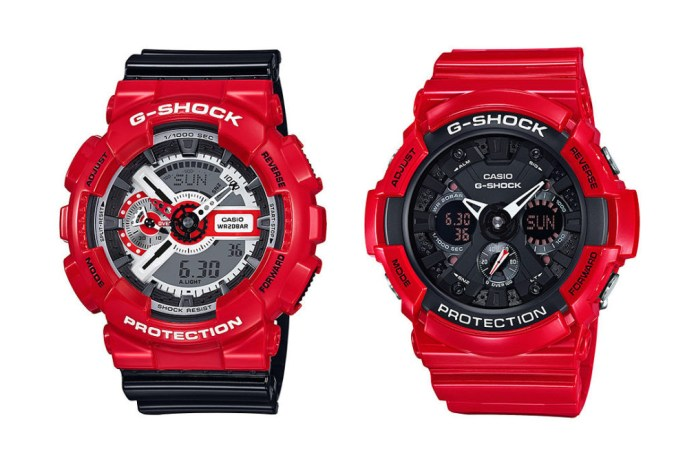 G-SHOCK Releases Two Watches for Valentine's Day