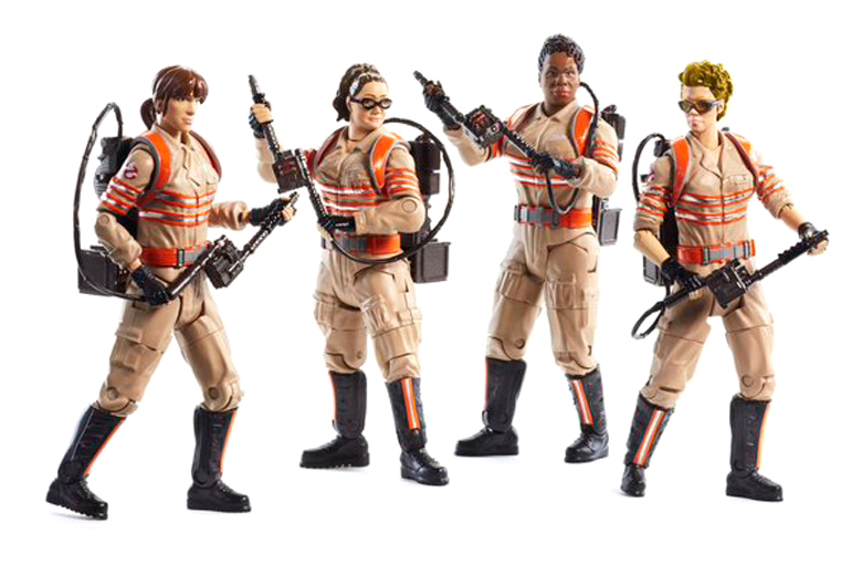 The Female Ghostbusters Now Have Their Very Own Action Figures