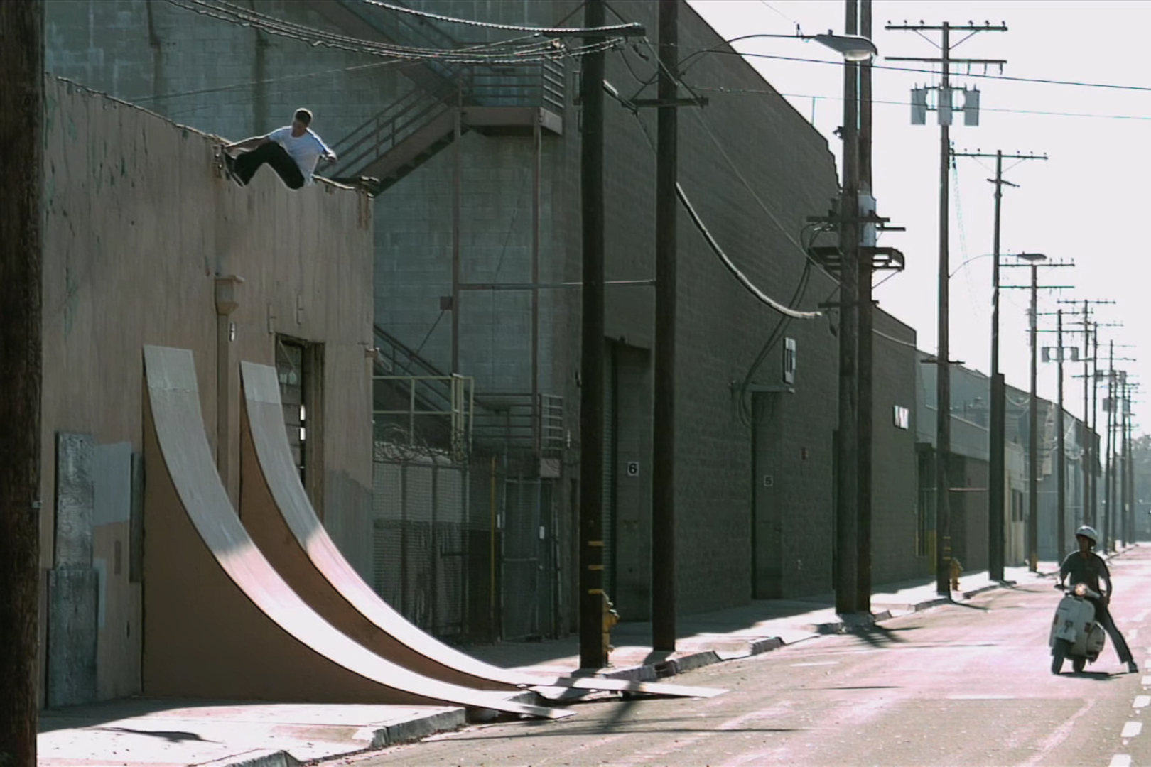 """Girl & Chocolate Skate Huge Quarterpipes in These """"Pretty Sweet"""" Outtakes"""