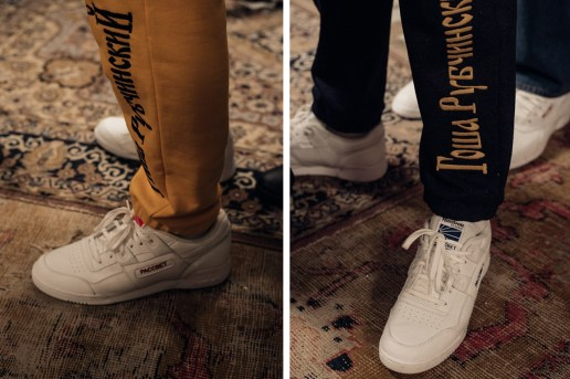 Backstage at Gosha Rubchinskiy's 2016 Fall/Winter Show Reveals New Reebok Collaboration