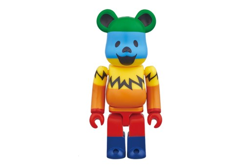 "Grateful Dead x Medicom Toy 100% & 1000% ""Dancing Bears"" Bearbricks"