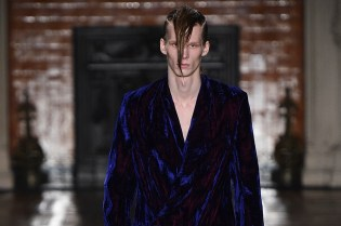 Haider Ackermann Reimagines Punk-Rock for Its 2016 Fall/Winter Collection