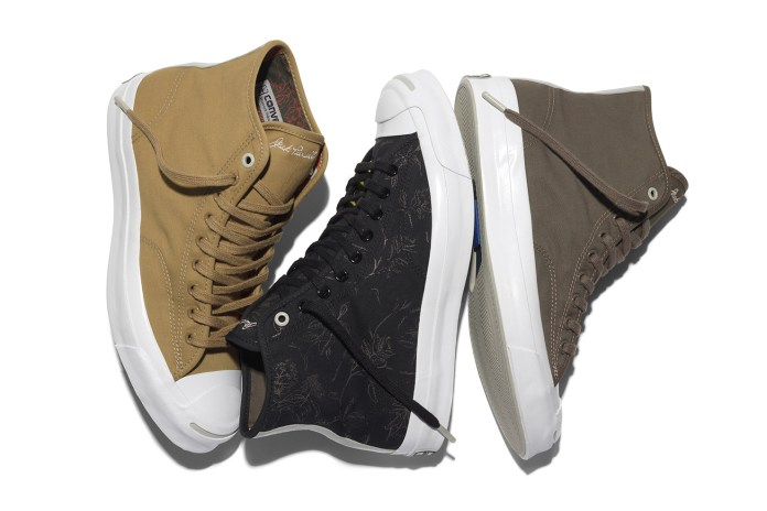 Converse & Hancock Unveil a New Trio of Water-Repellant Jack Purcells