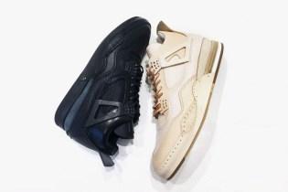 "Hender Scheme Unveils All-Black ""Air Jordan IV"""