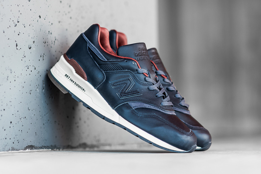 New Balance Taps Horween for a Patriotic 997