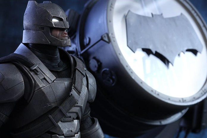 Hot Toys Unveils Its Armored Batman